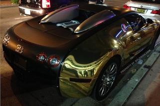 Flo Rida's Bugatti Caught Chillin' At Miami Heat Party