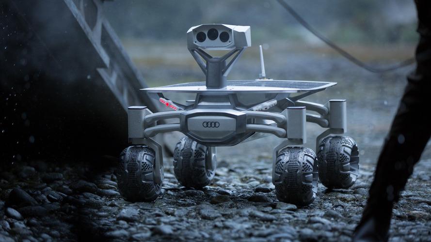 Audi Lunar Quattro Rover oyuncu oluyor