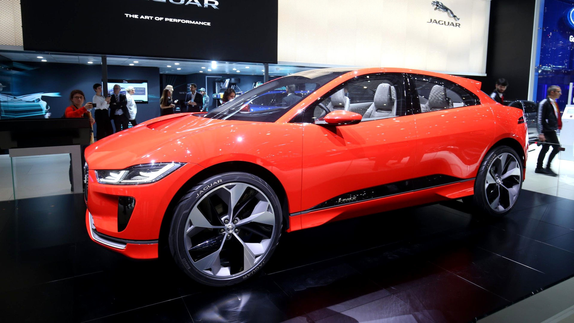 2017 Jaguar Lineup >> Jaguar I-Pace Concept is red and ready for Euro debut