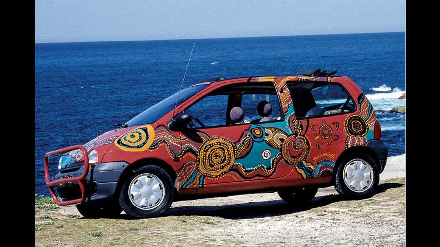 Quer durch Australien – im Twingo