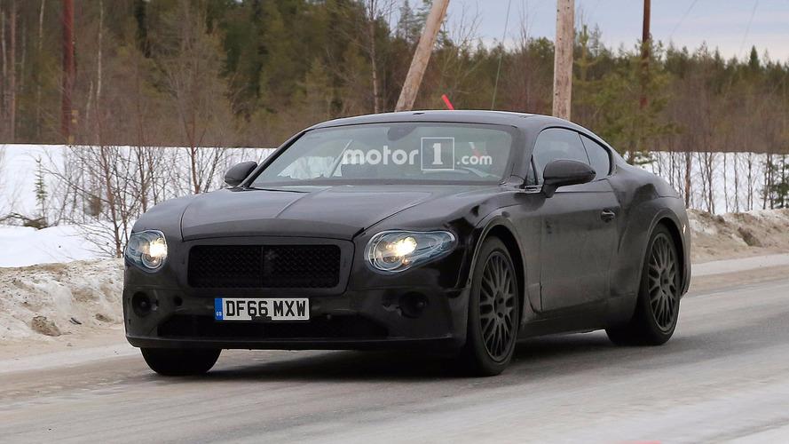Bentley Continental GT daha az kamuflajla görüntülendi