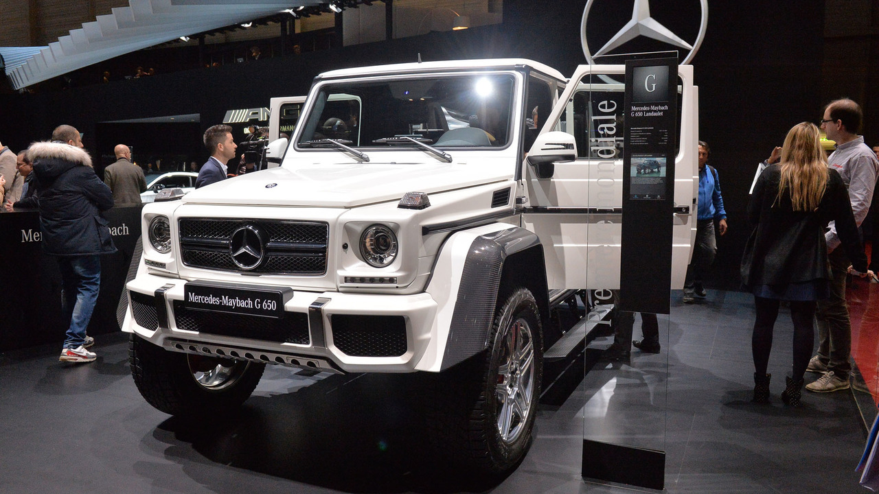 Mercedes maybach g650 landaulet offers v12 power s class for Mercedes benz maybach g650