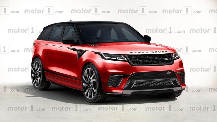 """Az olaszok szerint így mutat majd a Range Rover Velar """"SVR"""""""