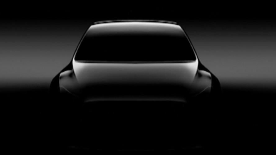 Le Tesla Model Y fait une première apparition