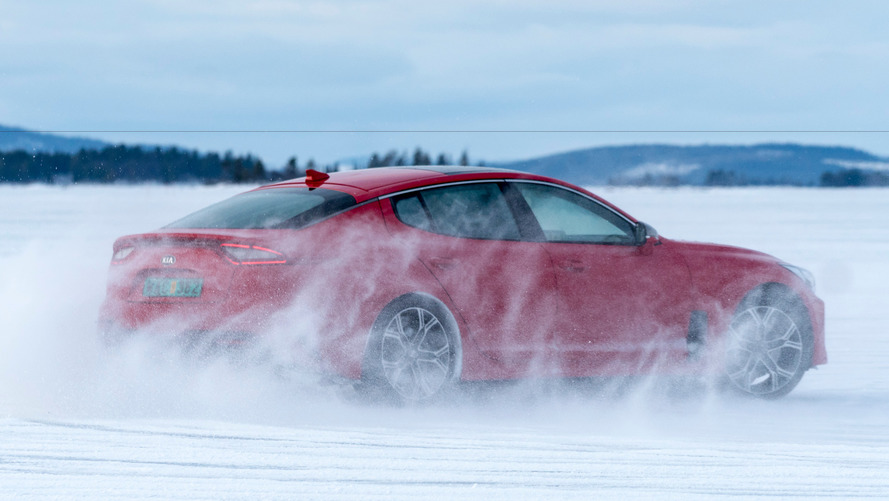Kia Stinger tests its mettle in frosty conditions, proves it's ice cold