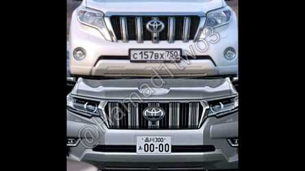 2018 Toyota Land Cruiser Prado Facelift Leaks On Social Media?