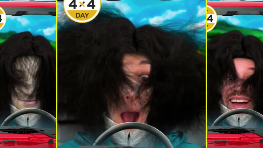Jeep Snapchat Lens Blows Your Hair Around Like The Top's Down