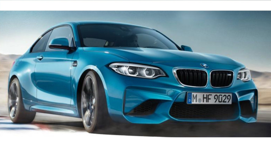 Vazou: BMW M2 2018 facelift aparece