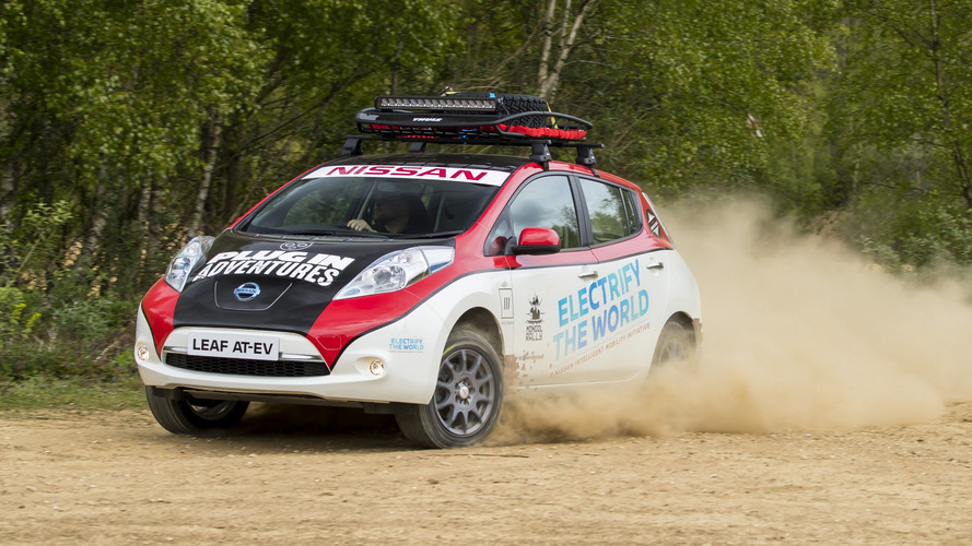 Nissan Leaf All Terrain Is The First EV Ever To Enter Mongol Rally