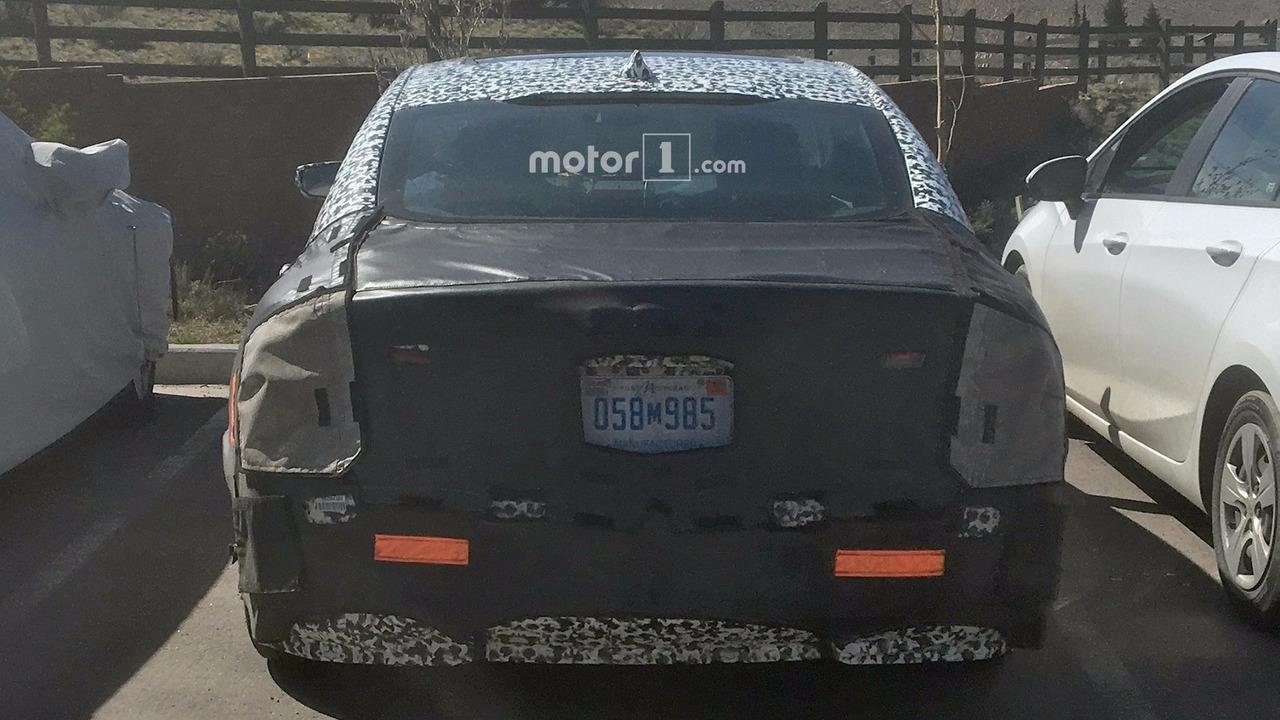 2019 Chevy Malibu spy photo