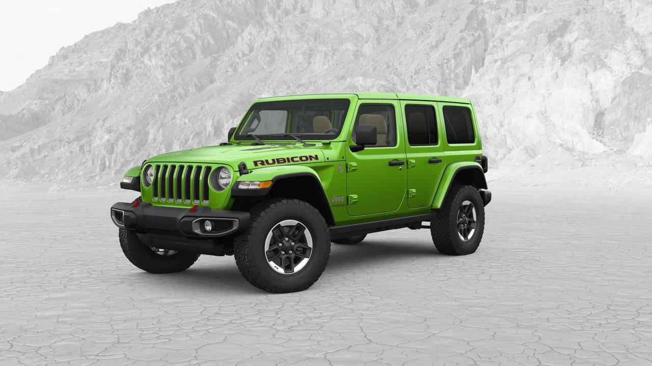 Jeep Wrangler Soft Top >> Most Expensive 2018 Jeep Wrangler JL Costs $57,310
