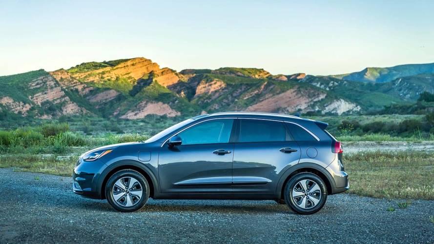 2017 Kia Niro Fe >> Kia Niro PHEV Brings 23 Miles Of EV Range To L.A.