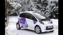 Elektroautos im Winter