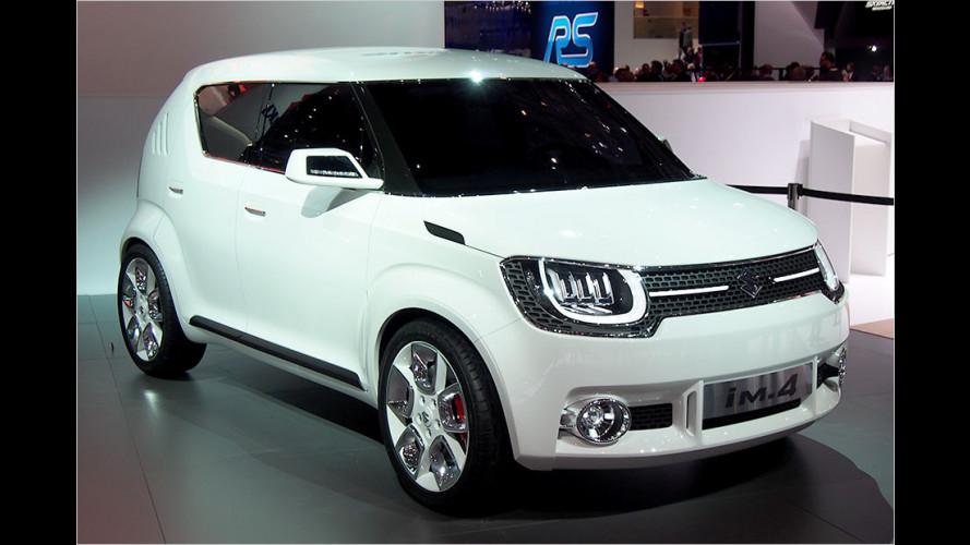 Suzuki zeigt Kompaktauto und Mini-Allradler