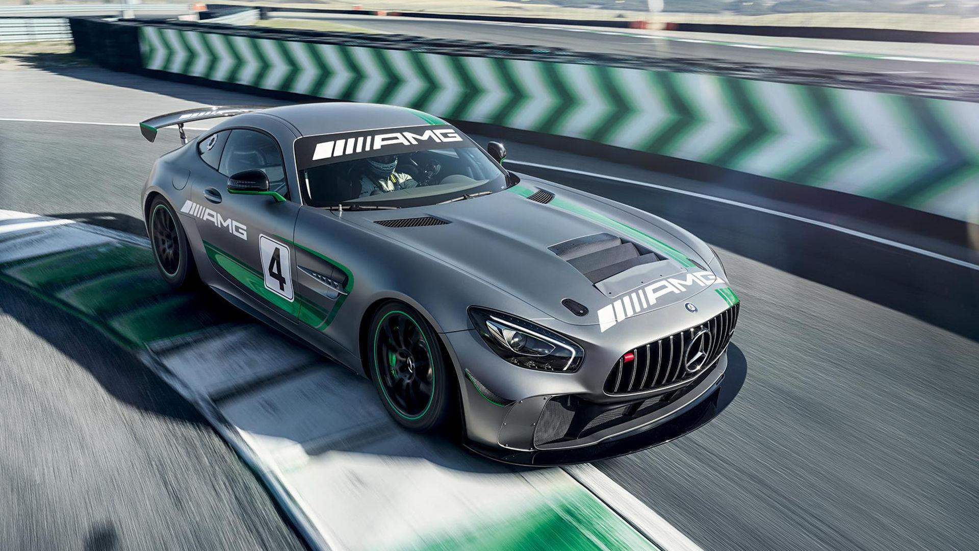Mercedes-AMG GT4 Hits The Track In Intense Promo Video