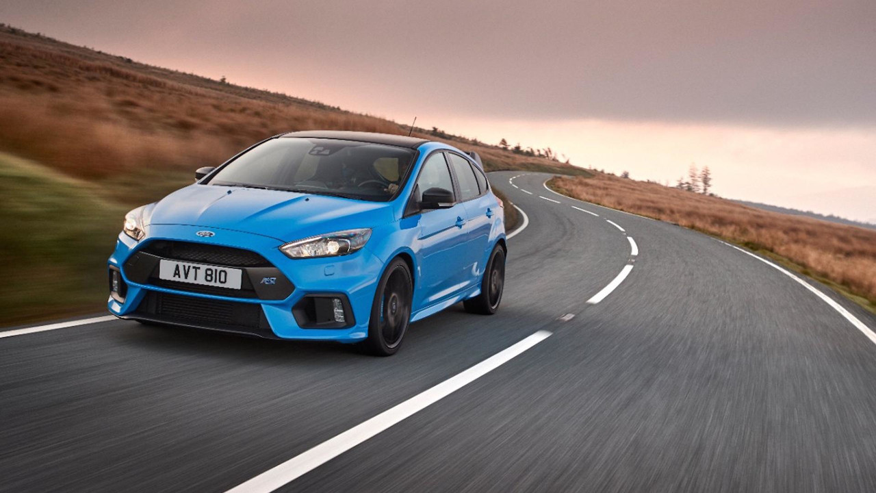 Ford Focus RS Tame The Track Challenge