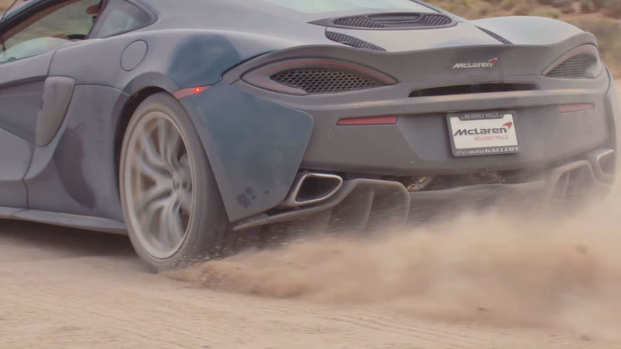 2017 McLaren 570GT Back Road Review