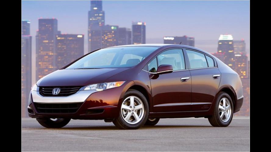 Honda macht mächtig Dampf mit dem FCX Clarity