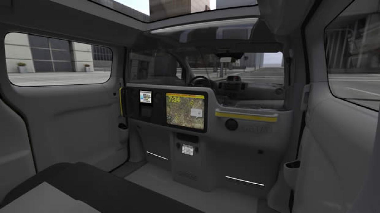 Nissan mostra o interior do