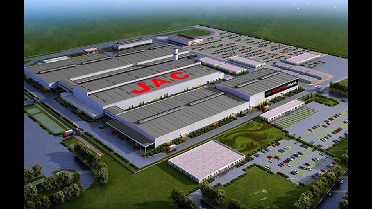 JAC começará obras civis em Camaçari (BA) no mês de novembro