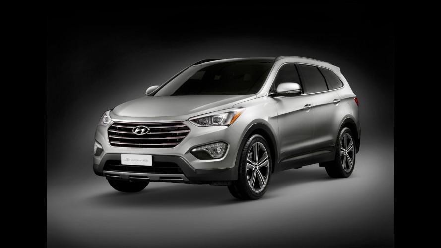 Hyundai confirma chegada do Grand Santa Fe ao mercado europeu