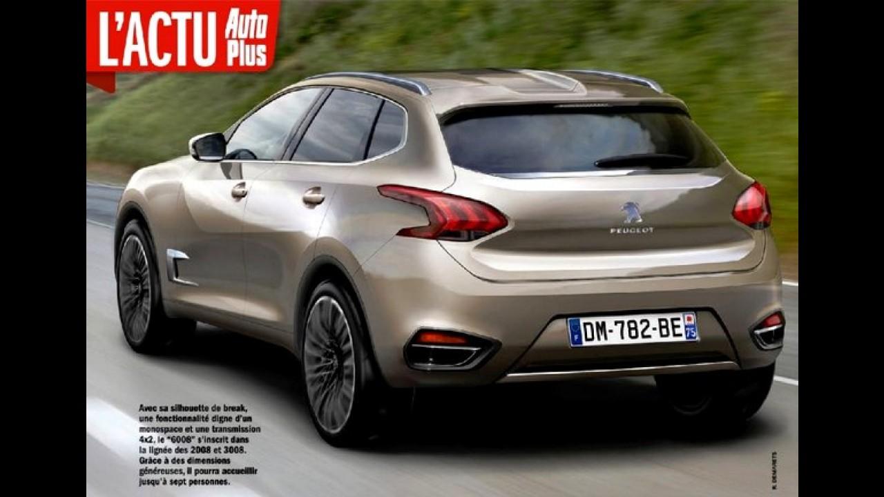 Peugeot prepara SUV de luxo 6008 para brigar com Audi e BMW na China
