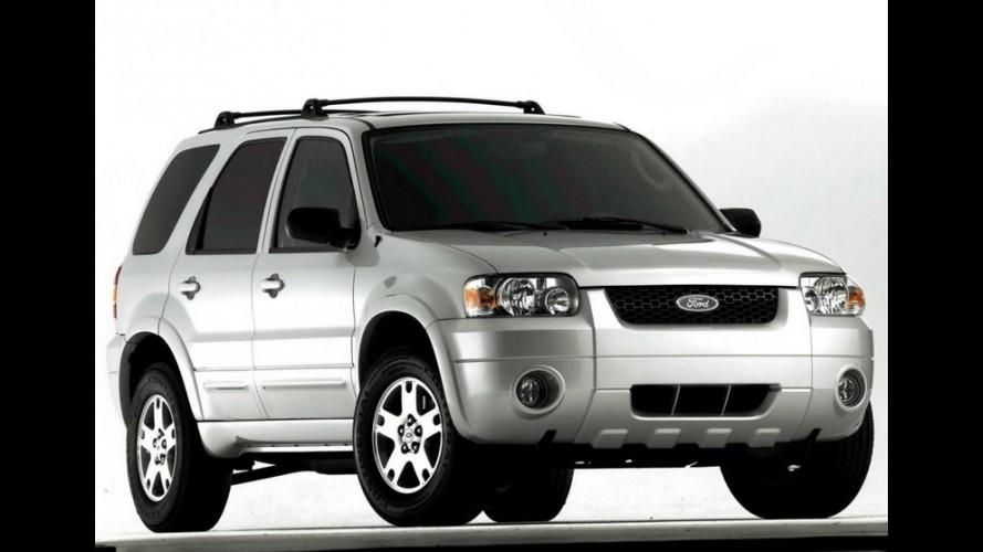 Ford paga multa de US$ 17 milhões por demora em recall do Escape