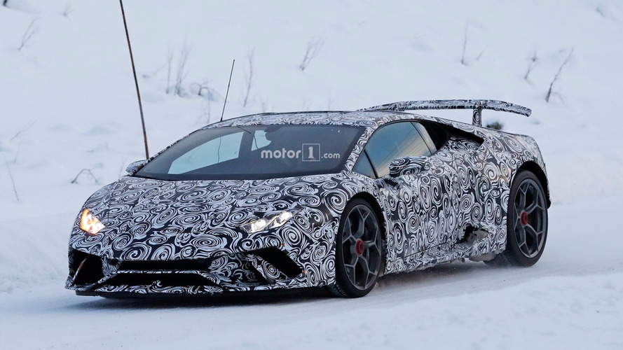 Lamborghini Huracan Superleggera blows into the arctic for testing