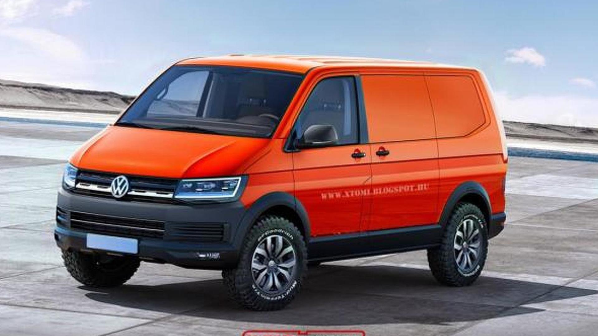 Новый Volkswagen Transporter T6, неофициально от X-Tomi Design
