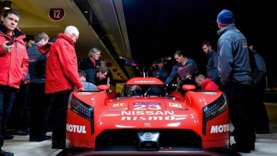 Nissan GT-R LM NISMO gets detailed ahead of Le Mans