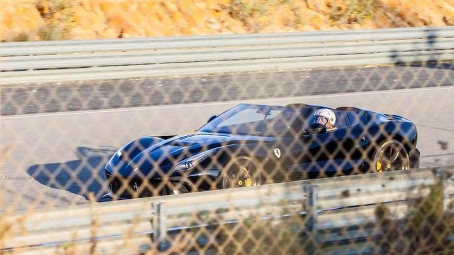 Black Ferrari F12 TRS spotted in Spain