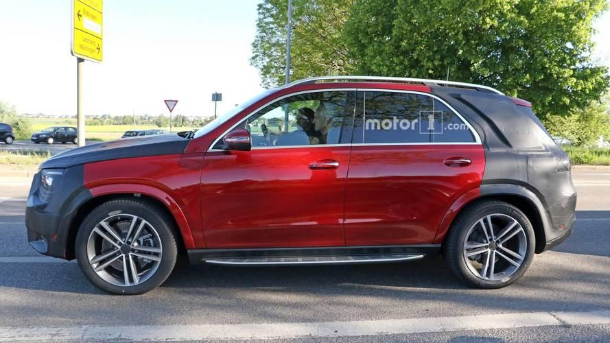 2019 Mercedes GLE prototipleri yakından görüntülendi [GÜNCEL]