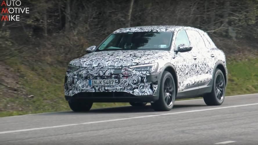 El Audi e-tron 2018 se desata en Nürburgring