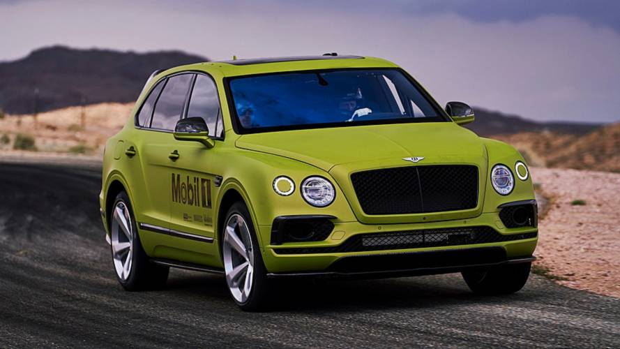 Bentley Unveils Record-Chasing Bentayga For Pikes Peak