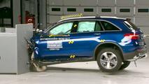 2017 Mercedes-Benz GLC300 IIHS Crash Test
