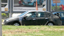 Dacia Mid-Size Sedan Spy Photo