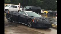 2019 Chevrolet Corvette Spy Photos