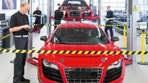 Audi R8 e-tron development center - 12.5.2011