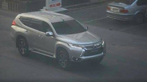 2016 Mitsubishi Pajero Sport caught naked on camera