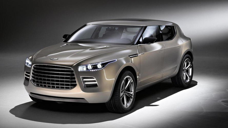 Aston Martin Lagonda crossover could be launched in 2017 - report