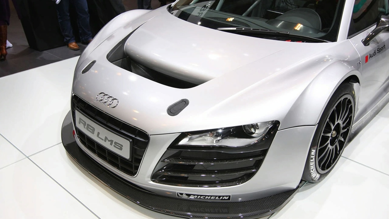 Audi R8 LMS racing car