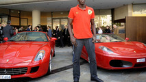 Olympic Champion Usain Bolt Gets Ferrari Dream Drive in Monaco