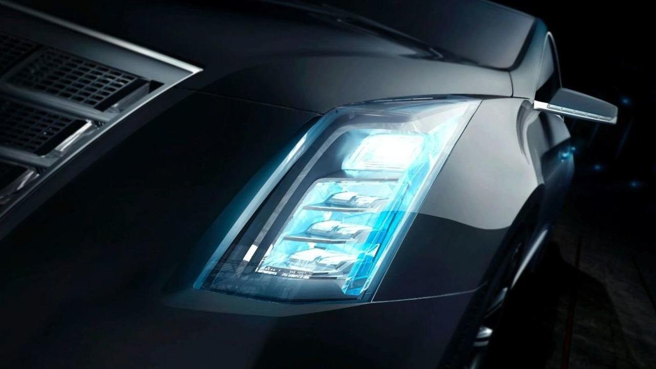 New Cadillac Concept Car teaser to Debut at 2010 NAIAS