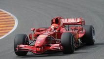 Michael Schumacher in F2007, Mugello, 31.07.2009 - med res