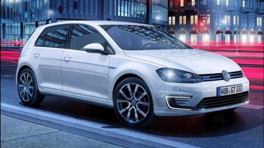 Volkswagen Golf GTE, ibrida alla spina
