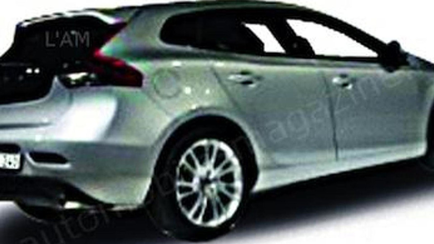 2013 Volvo V40 allegedly leaked