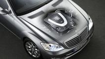 S Class new V8 petrol engine