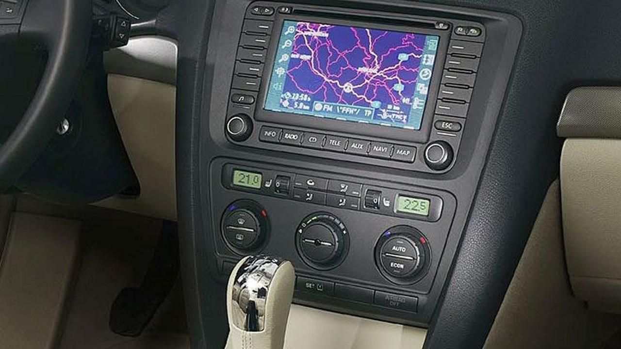Skoda Superb Navigation