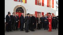 Napolitano in visita alla Ferrari