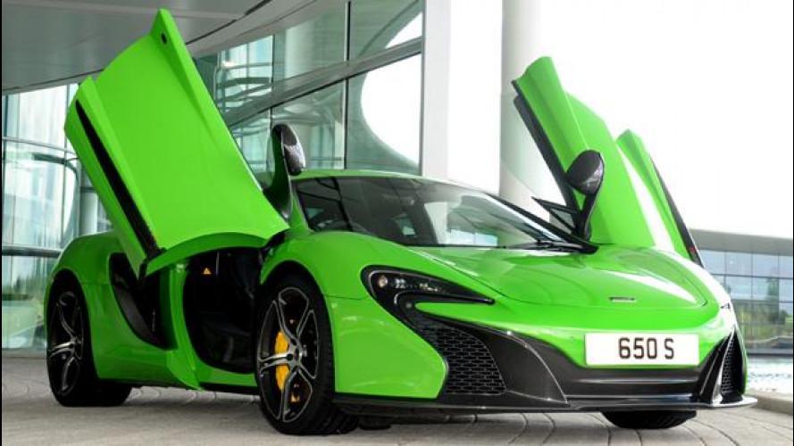 La targa per la vostra McLaren? All'asta da 400 a 5.000 euro